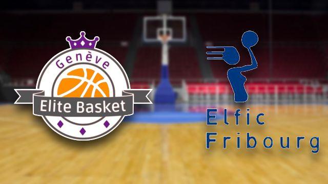 Finale dames: Genève Elite - Elfic Fribourg