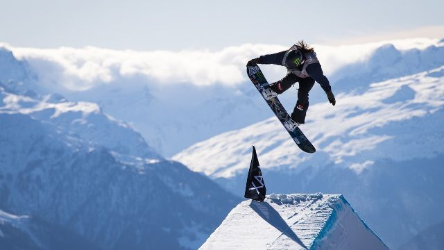 1/2 finale Slopestyle dames
