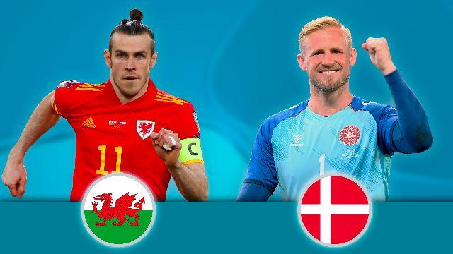 1/8: Pays de Galles - Danemark