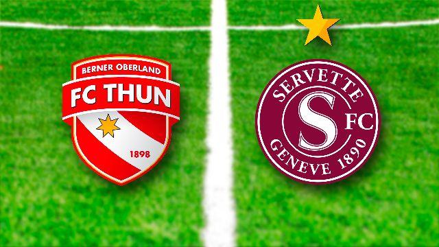 1/8: Thoune - Servette