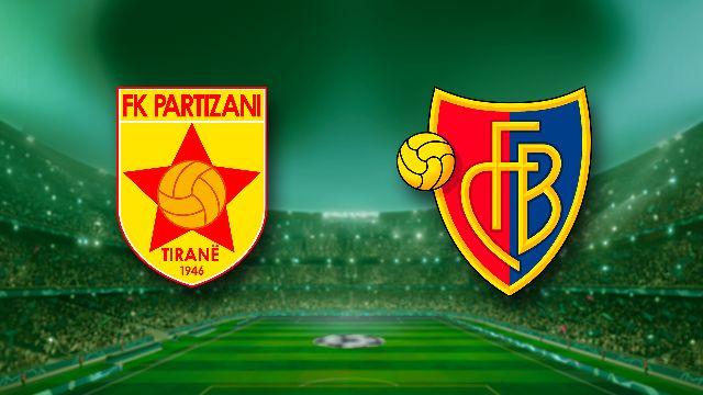Match retour: Partizan Tirana - Bâle