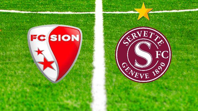 5e journée: Sion - Servette
