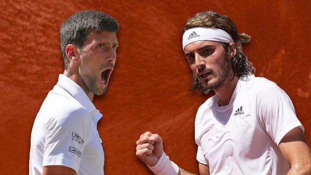 Finale messieurs: N. Djokovic (SRB) - S. Tsitsipas (GRE)